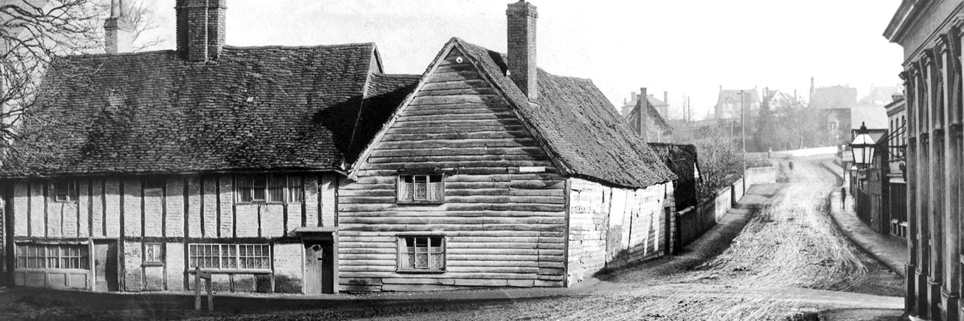 Home Farm and Stakers Lane c 1890
