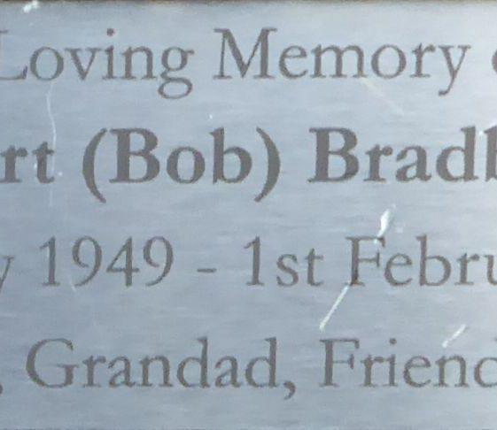 Bob Bradbury, Rothamsted Park