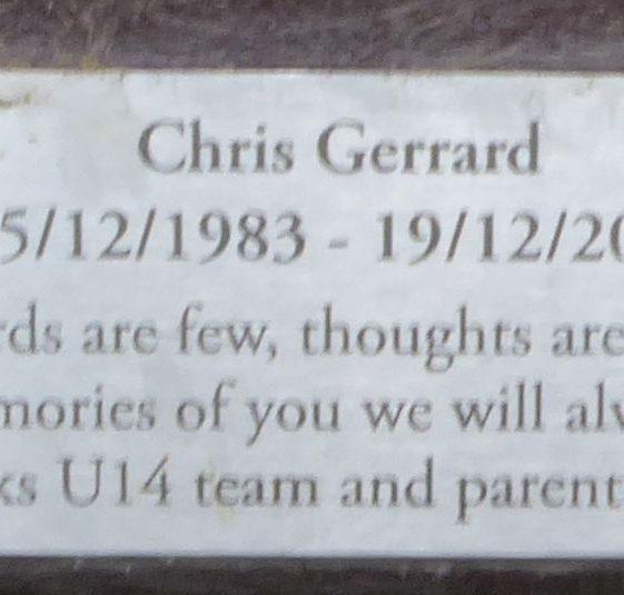 Chris Gerrard, Rothamsted Park