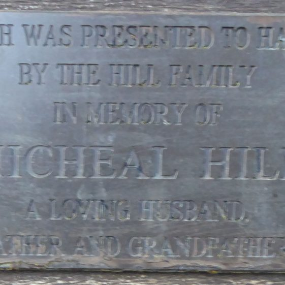 Micheal Hill, Beesoned Lane near St Albans Rd