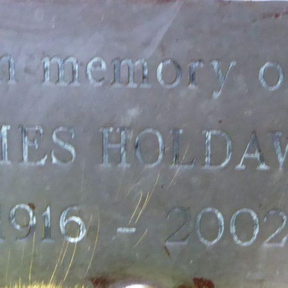 James Holdaway, Lydekker Park