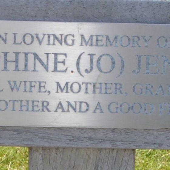 Josephine (Joy) Jenkins, Cricket Ground on Common
