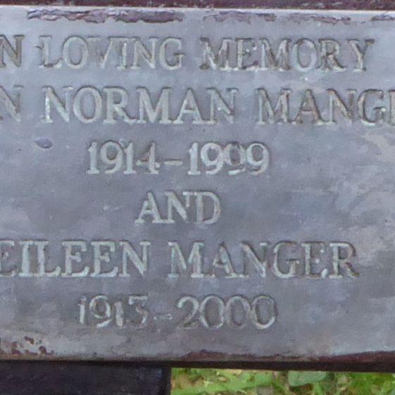 Jim and Eileen Manger, Lydekker Park