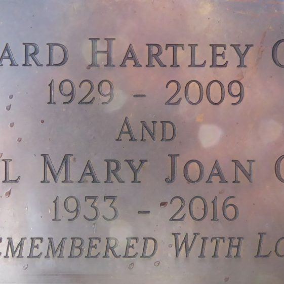 Richard Hartley Offer and Hazel Mary Offer, Leyton Green