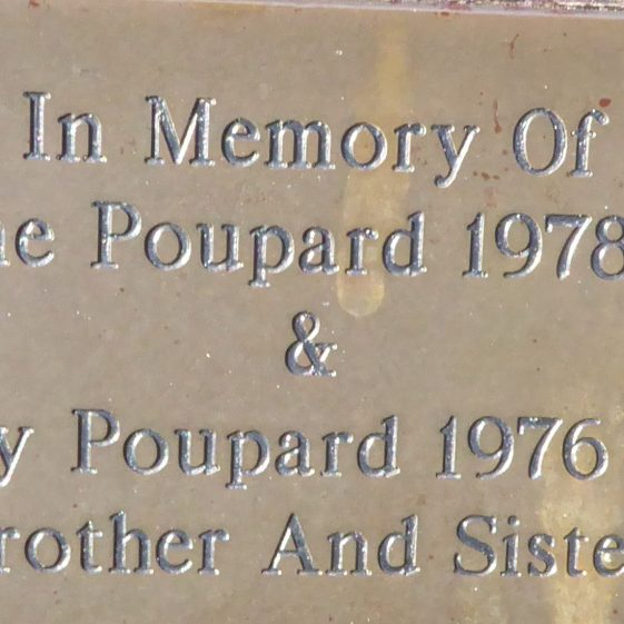 Caroline and Gregory Poupard, Church Green
