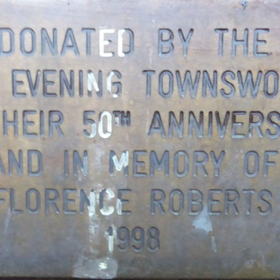 Florence Roberts, Sensory Garden at Bowers Parade