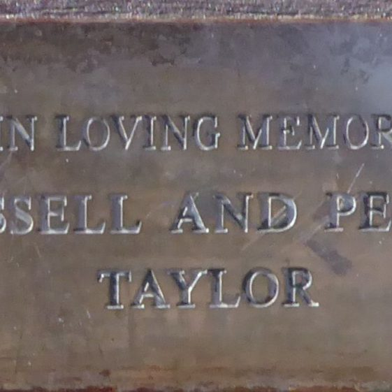 Russell and Peggy Taylor, Common south of Cricket Ground