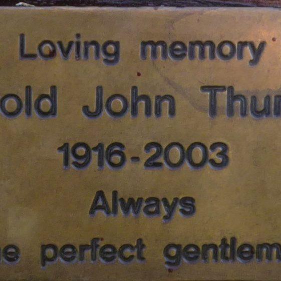 Harold John Thurlow, Cricket Ground on Common