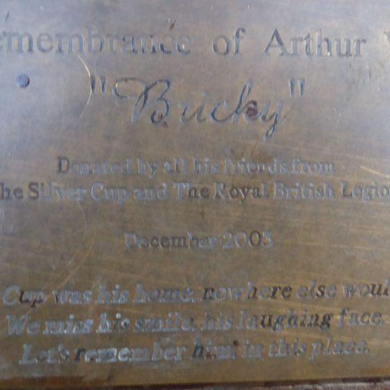 Arthur (Bucky) Ward, Common by Silver Cup