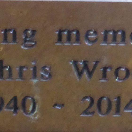 Chris Wroe, Rothamsted Park