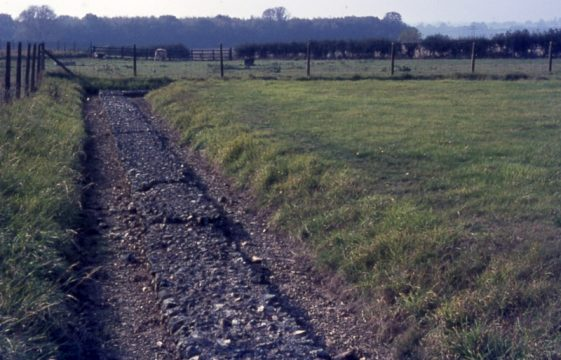 Traces of Roman occupation