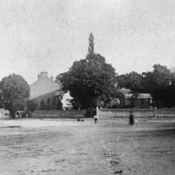 (3) High St, with Cock Pond, looking South, 1870s, detail | LHS archives -  LHS 12653
