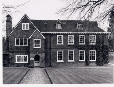 Harpenden Hll,, with 16th century gabled wing and 17th century wing | Royal Commission for Historical Monuments c 1977, LHS collection