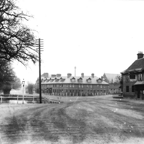 (5) High St, with Cock Pond, looking South c.1895, LHS 4473 | LHS archives -  LHS 4473