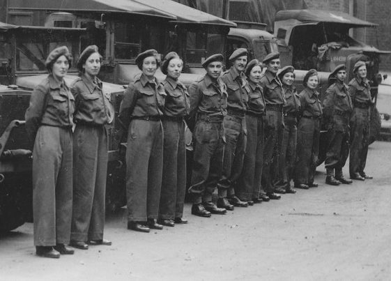 Group photo of 102 Relief Section (Scouts) - Cornelia Clutterbuck is second from the left. | Vol.1 - page 3