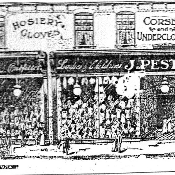 (6) Press advertisment for J Pestell | Geoff Woodward collection
