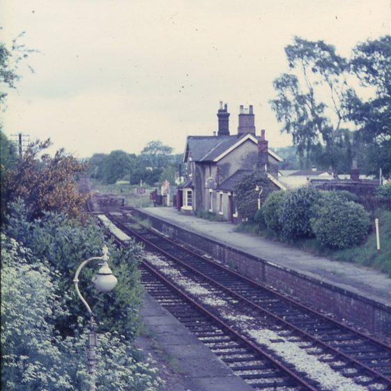 Harpenden East Station 1960's by Les Casey | Cat no LHS digitised slides 119