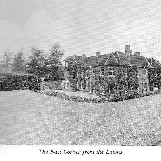 19. The gardens as maintained by the Waltons in the 1920s, setting for many fetes   LHS archives - photo for sales catalogue by F Thurston