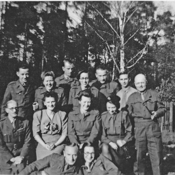 Group photo with Polish wives and officers - enlarged | Vol.2 - page 41