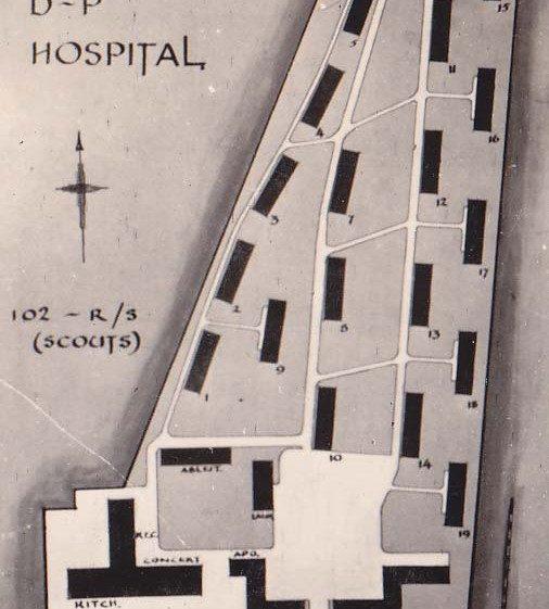 Plan of Bomlitz Hospital | Vol.2 - page 44