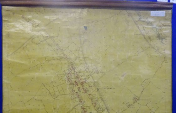 Maps and Plans in the Society's Archives