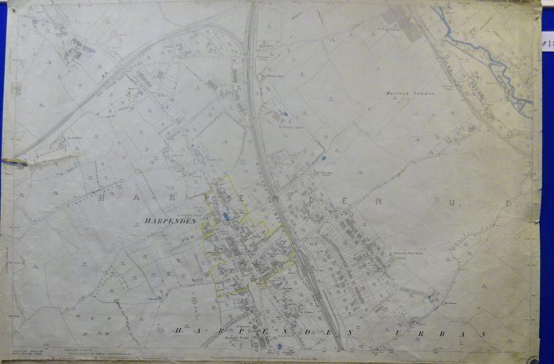 1898 OS map - north Harpenden