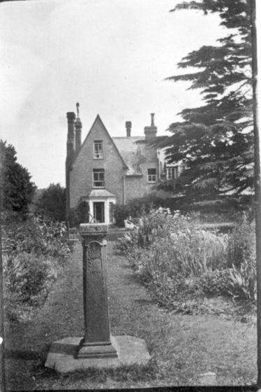 Dr Gilbert's house, viewed from the garden, c. 1922 | Rothamsted archives