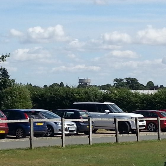 A reminder of what the tower looked like from Rothamsted Park - 3 August 2014 | Trevor Miller