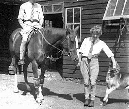 Park Stables in the 1960s