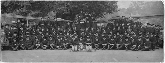 Harpenden Fire Brigade and Auxillary Fire Service in WWII