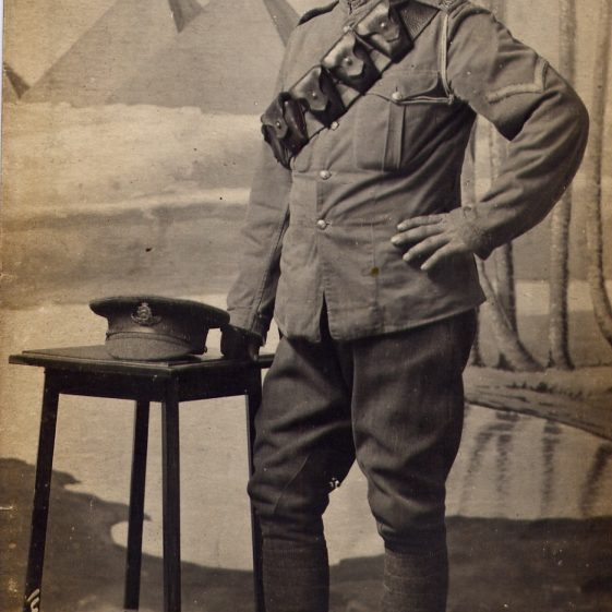 4.  Studio portrait of Albert Weston, c 1915/16 | Di Castle's family albums
