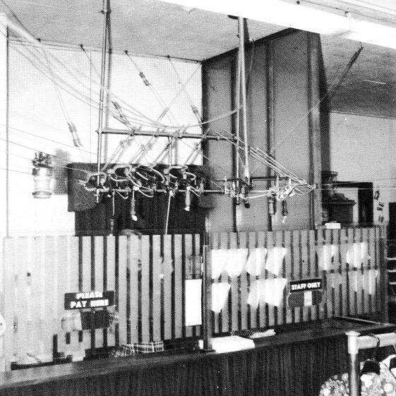 The cashier's desk | LHS archives - Anscombes brochure