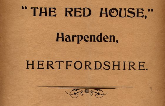 The Red House, auctioned in 1904
