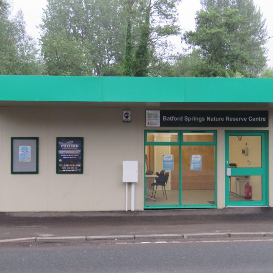 The new HQ for Batford Springs Nature Reserve   Ian Denholm