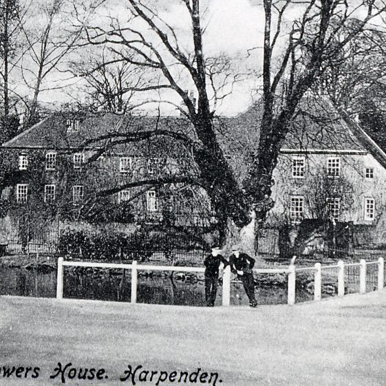 Pond and Bowers House - 1910 | Cat no Slides B 1.19
