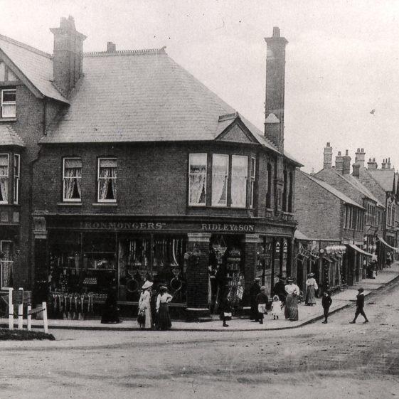 Ridley's shop Station Road - 1900 | Cat no Slides B 1.52