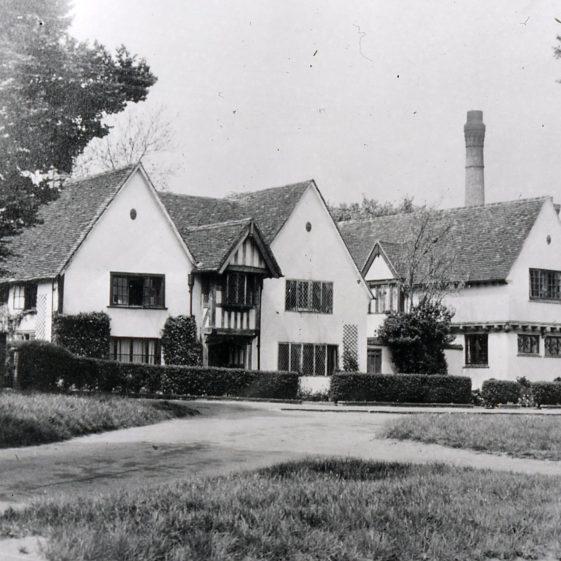 Gable End, Leyton Road - 1920's   Cat no Slides B 1.61