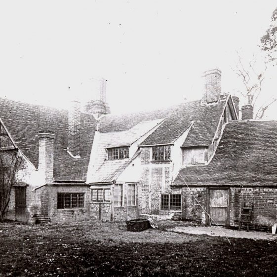 Rear of The Old House, formerly The Bull Inn   LHS archive, cat. B 1.62