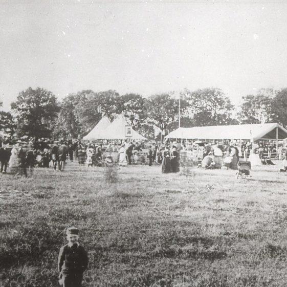 Rothamsted Farm - fete - 1890's | Cat no Slides B 1.81