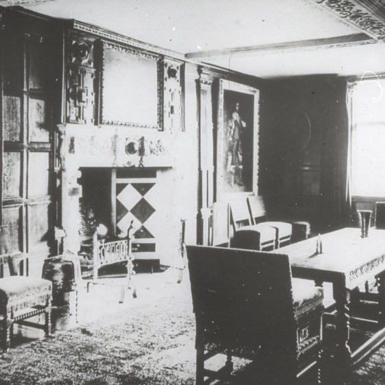 Rothamsted Manor interior - 1900 | Cat no Slides B 1.83