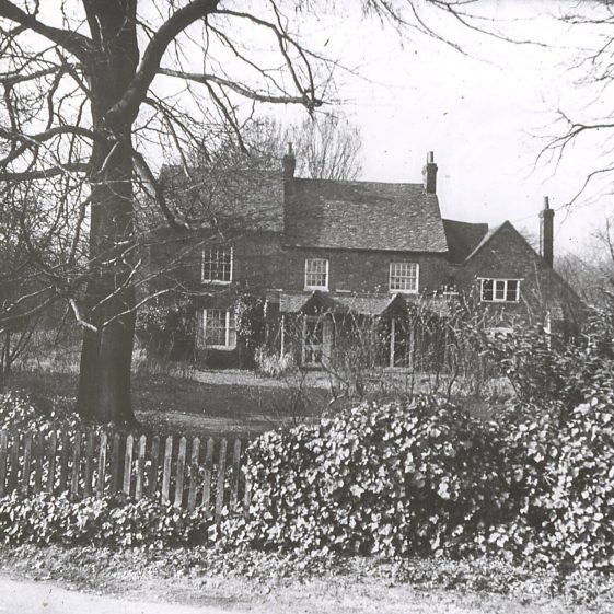 12. The Granary, formerly known at Upper Topstreet Farm, Crabtree Lane - 1920s | LHS archives - LHS B.86