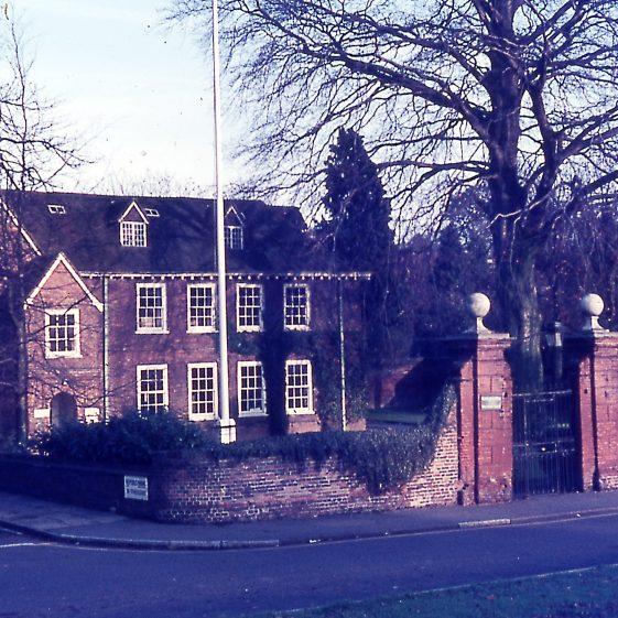 Harpenden Hall in 1960's - offices of Harpenden Urban District Council until 1974 | Cat no Slides B 1.95