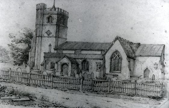 Paintings and sketches of old Harpenden