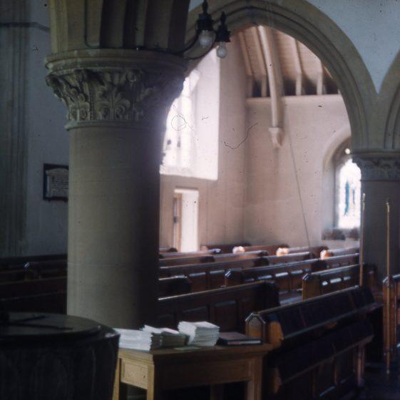 St Nicholas Church before alterations - pre 1962 | Cat no Slides B 119