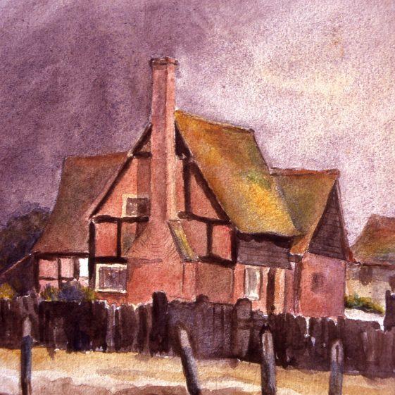 9. Watler's Farm, Queens Road - 1890, demolished in 1960s | Cat no Slides B 2.12