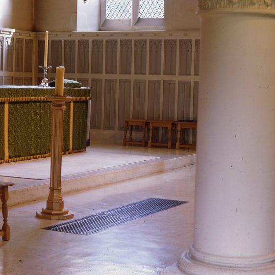 St Nicholas Church after alterations - post 1962 | Cat no Slides B 2.120