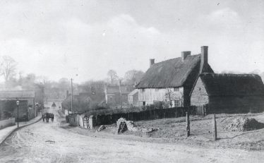Perhaps the writer was thinking of these cottages ,now the corner of Victoria Road | LHS archives, cat.no. B 2.45