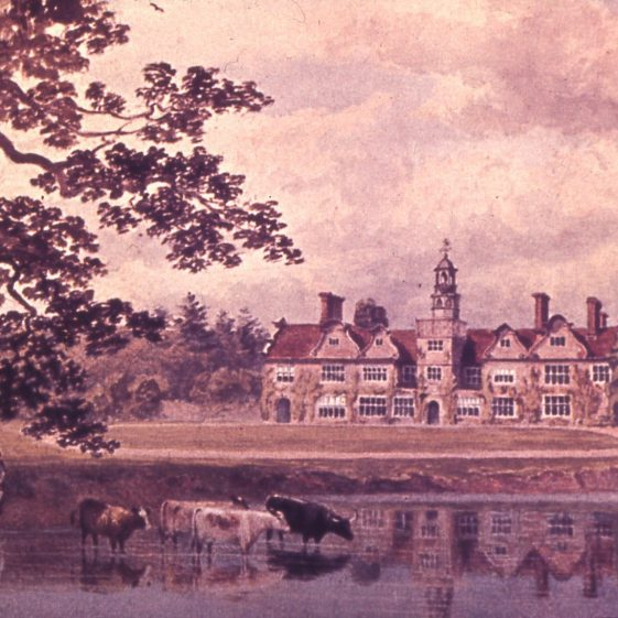 Rothamsted Manor - 1880's - by Lady Caroline Lawes | Cat no Slides B 2.93