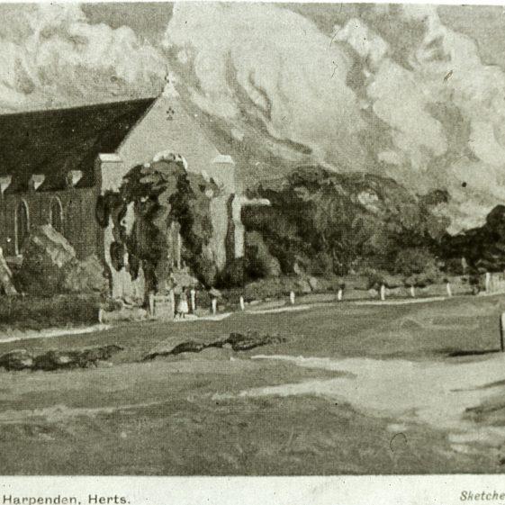 St John's Church - 1914 | Cat no Slides B 3.21