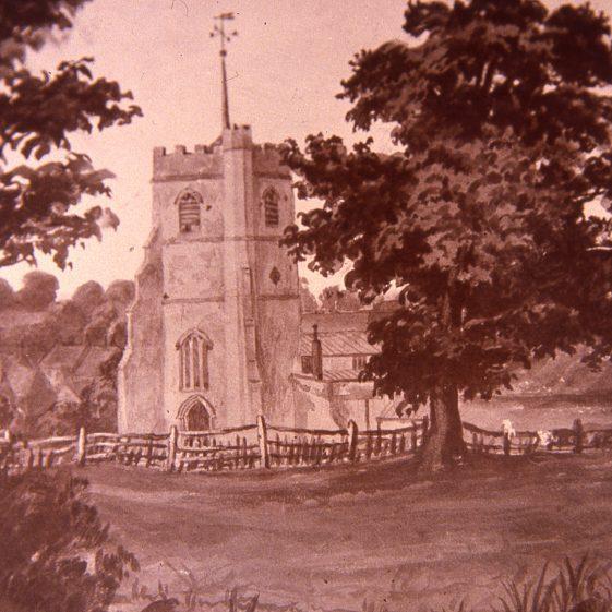 St Nicholas Church - 1860 | Cat no Slides B 3.44